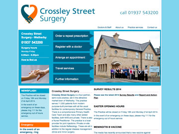 Crossley Street Surgery, Wetherby