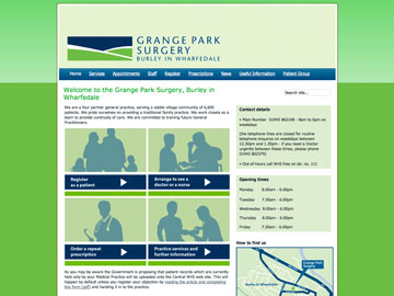 Grange Park Surgery, Burley in Wharfedale